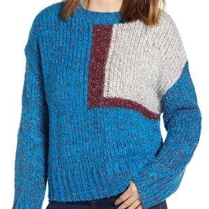 NWT Prima Tinsel Knit Crew Neck Sweater - So Fun!